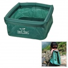 AOTU Y-3 Outdoor Camping Folding Water Pot / Bag - Green (9L)