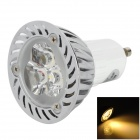 Tohda GU10 3W 200lm 3500K 3-LED Warm White Spotlight (85 ~ 265V)