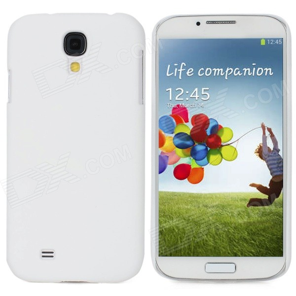 Protective Ultra Thin Back Case for Samsung Galaxy S4 i9500 - White нил gold nillkin apple 6splus iphone6plus цинь серии телефонов защитный чехол черный