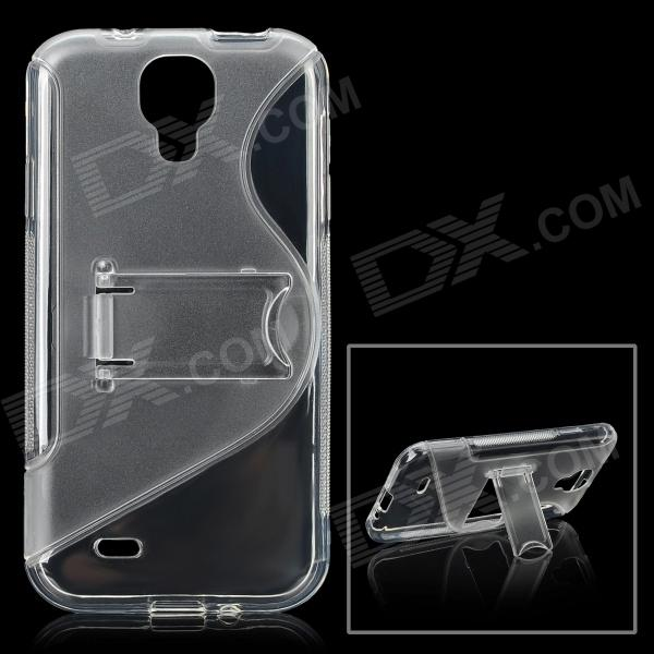Protective TPU Soft Case for Samsung Galaxy S4 i9500 - Transparent аксессуар чехол samsung galaxy a3 2017 cojess tpu 0 3mm transparent