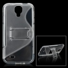 Protective TPU Soft Case for Samsung Galaxy S4 i9500 - Transparent