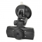 "LSON S6000 1.5"" TFT 3.0MP Wide Angle Car DVR Camcorder w/ HDMI / TF / 4-IR LED - Black"