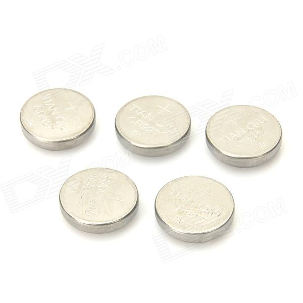 все цены на TIANQIU 3V CR927 Lithium Button Batteries - Silver (5 PCS) онлайн