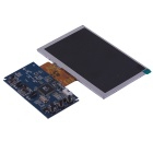"DIY HD 5"" TFT LCD Display and Parts Module - Black + Blue + Silver (480 x 800)"