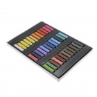 36-Color Hair Chalk Non-toxic Temporary Salon Kit Pastel