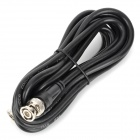 3m BNC Male to BNC Male Cable for Surveillance Camera - Black