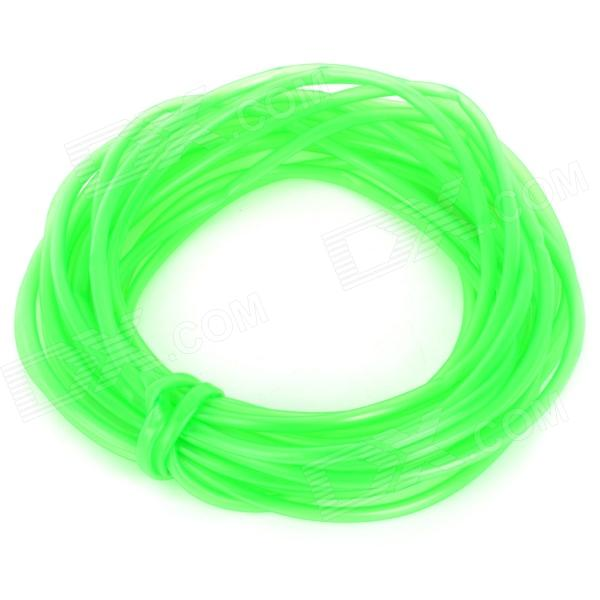 E5HT Silicone Oxygen Tube / Hose for Fish Tank / Aquarium - Translucent Green (10m)