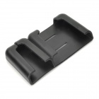 Multi-Function Car PVC Stand for Iphone 4 / Cell Phone / GPS / Name Card - Black