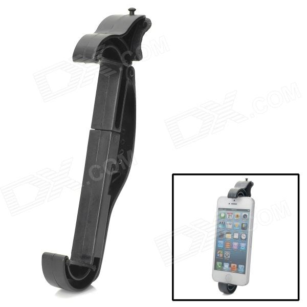 Y259 Car Steering Wheel Fixed Plastic Stand for Camera / Cell Phone / GPS / Iphone - Black