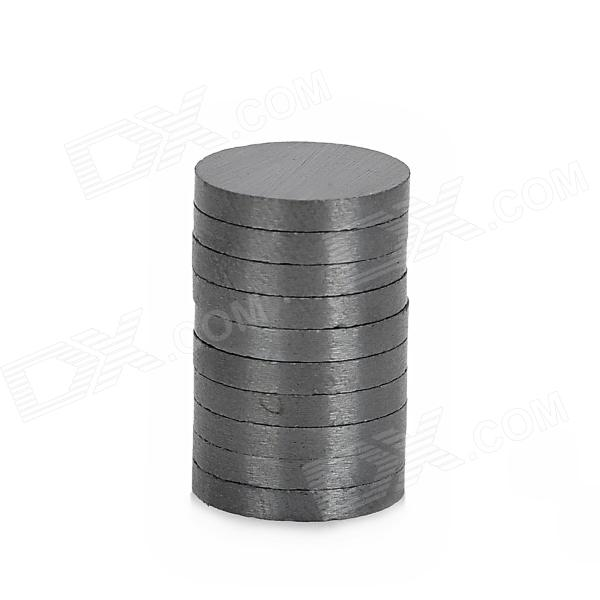 10 x 1.5mm Ferrite Magnet Discs - Black (10 PCS) thumbnail