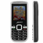 "AOLE 100mini GSM Bar Phone w/ 1.8"" LCD Screen, Quad-Band, Dual-SIM and Bluetooth - Black + Silver"