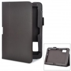 Magnetic Protective PU Ledertasche für HP ElitePad 900 G1 - Dark Brown