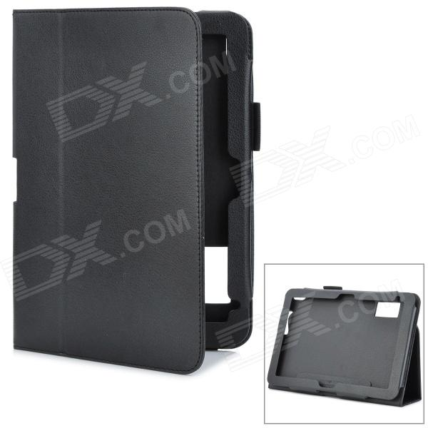Magnetic Protective PU Leather Case for HP ElitePad 900 G1 - Black