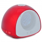 DAMI-M6 Portable 2-Channel Hands-Free Bluetooth V2.0 Speaker w/ Microphone - Red + White
