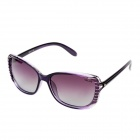 YALUN Polaroid Glare-guard TAC Sunglasses w/ UV400 UV Protection for Women- Gray + Red