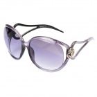 SENLAN 8256 Fashion Women's UV400 Protection Sunglasses - Light Purple