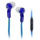 SONGQU IP1013 Stylish In-Ear Earphone for Iphone / Cell Phone - Blue + Black (3.5MM Plug)