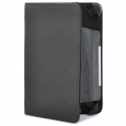 "Magnetic Protective PU Leather Case w/ Movable Bayonets for Tablets 7"" Or Smaller - Black"
