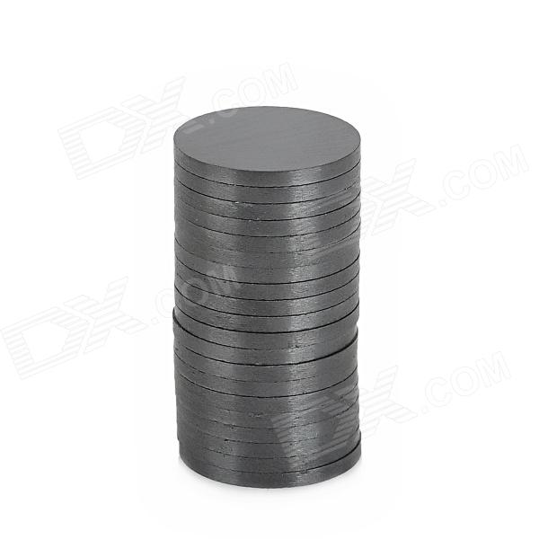Round Shaped Ferrite Magnet for Electronic DIY - Black (18 x 1.6mm / 20 PCS) panasonic es wh80