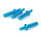 HSP 188037 Upgrade Part Aluminum Alloy Body Post for 1:10 Scale RC Car - Blue (4 PCS)