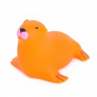Sea Lion Kids Funny Bathing Toy w/ Multiple Color Change Flashing LED - Orange (2 x LR626)