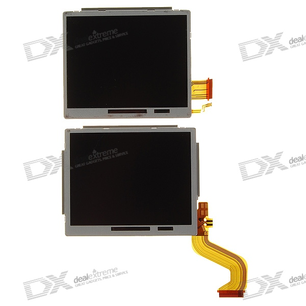 Genuine Nintendo Upper and Lower TFT LCD Screen Modules for NDSi/DSi (2-LCD Set)