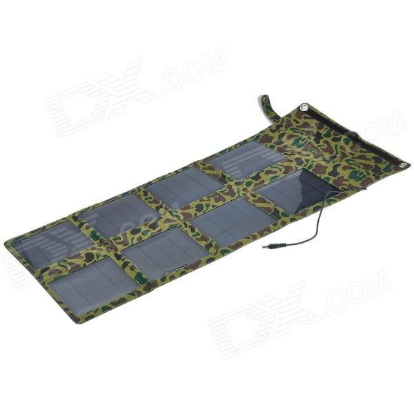 Miniisw SP24W Portable 24W Solar Power Charger Adapter for Laptop / Cellphone - Camouflage Color 20a 12 24v solar regulator with remote meter for duo battery charging