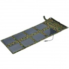Miniisw SP24W Portable 24W Solar Power Charger Adapter for Laptop / Cellphone - Camouflage Color