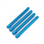 HSP 122037 Upgrade Part Aluminum Alloy Body Post for 1:10 Scale RC Car - Blue (4 PCS)
