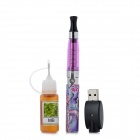 USB Rechargeable 650mAh Electronic Cigarette w/ 10ml MB Flavor E-Liquid - Purple