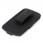 Horizontal Stripe Style Protective Back Case w/ Clip for Samsung Galaxy S3 i9300 - Black