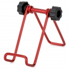 Folding Mini Aluminum Alloy Desktop Holder for Ipad MINI / Iphone + More Phone - Red