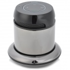 DOSS DS-1168 Rechargeable 1.5W Wireless Bluetooth 2.1 Speaker w/ Handsfree - Silver Grey + Black
