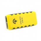 5200mAh External Lithium 3G Wi-Fi Power Bank for Iphone / Ipad / Ipod + More - Yellow + Black