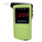 "AT AT-858 2.0"" LCD Digital Alcohol Breath Tester - Fluorescent Green + Black (3 x AAA)"