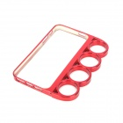 Plastic Knuckle Protective Frame for Iphone 5 - Claret
