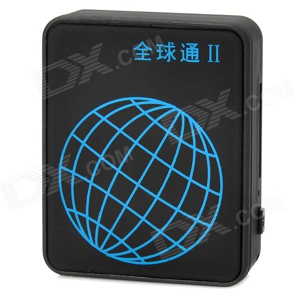 GPS 2 Mini USB Car / People Locating Tracker - Black