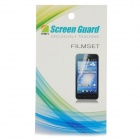 Protective Matte Frosted Screen Protector Film Guard for Sony LT25i - Transparent