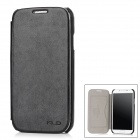 KAILAIDENG London Style Protective PU Flip-Open Case for Samsung S4 i9500 - Black