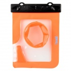 T-018M 20 Meters Waterproof Protective TPU Bag Case for Camera - Orange