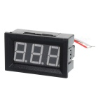 "V27D 3-Digit 0.56"" LED Digital DC Voltmeter w/ Fine Adjustment - Black"