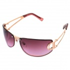 Panlees JHS3207 Fashionable UV400 Protection Sunglasses - Red