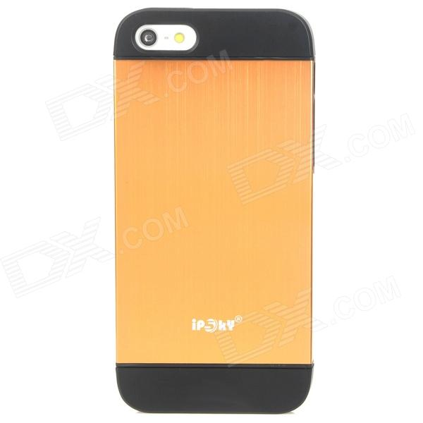 IPSKY Cool Style Detachable Back Case for Iphone 5 / 5s - Black + Golden