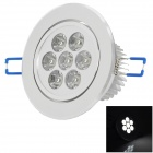 TOHDA THD-007 7W 500lm 6500K 7-LED White Ceiling Light (110~240V)