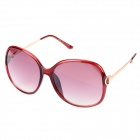 SENLAN 8105 Fashion Women's UV400 Protection Sunglasses - Red + Golden