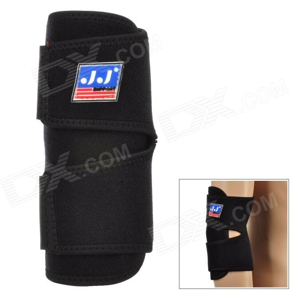 759 Protective Rubber + Flexible Nylon Sport Elbow Pad - Black winmax 6pcs set knee elbow protective pad