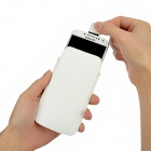 Protective PU Leather Pouch Case for Samsung Galaxy S4 i9500 - White