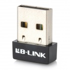 LB-LINK BL-LW05-5R2 Mini 150Mbps IEEE802.11b/g/n USB 2.0 Wireless Wi-Fi Adapter - Black
