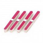 Buy 1011 Professional Mini Grit Nail Files Manicure Tool - Red + White (40PCS)
