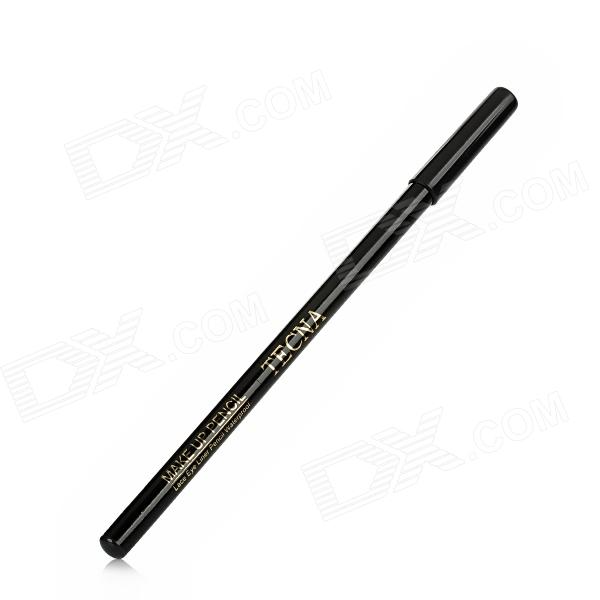 TECNA 02 2-in-1 Cosmetic Makeup Dark Grey Refill Eyebrow Eyeliner Pencil - Black